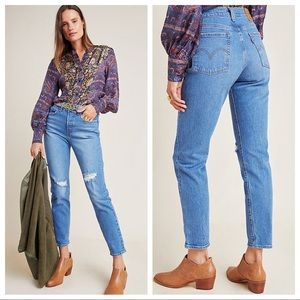 Levi's Wedgie Icon High Rise Straight Jeans 26